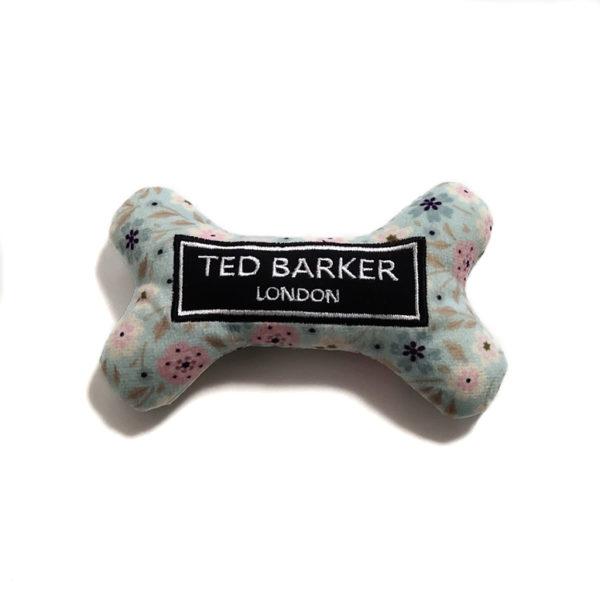 CatwalkDog Ted Barker Bone Parody Plush Dog Toy