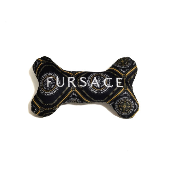 CatwalkDog Fursace Bone Parody Plush Dog Toy